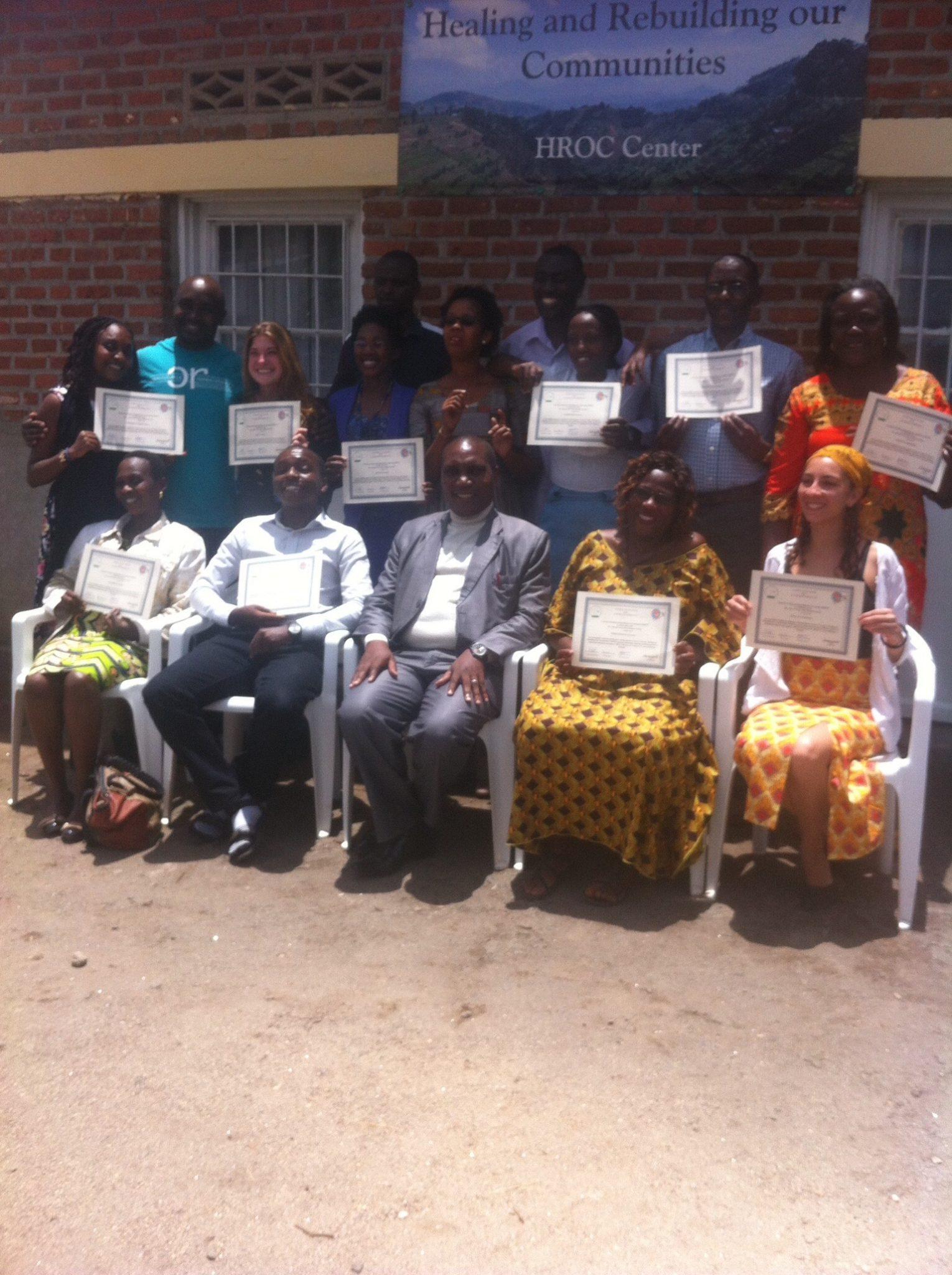 HROC International Training Participants