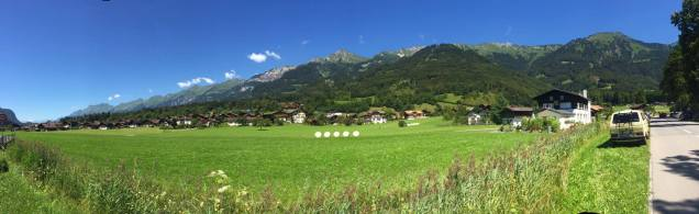 Beautiful swiss countryside