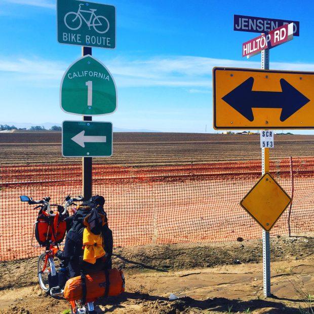 Brompton on Highway 1