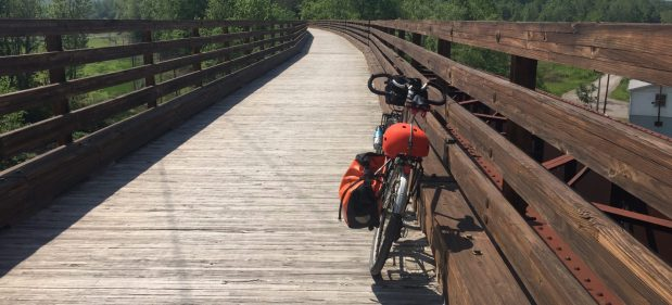 bicycle touring the GAP