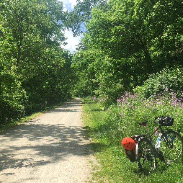 bicycle touring the GAP