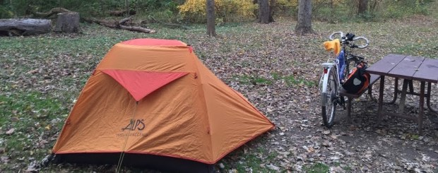 bike touring tent
