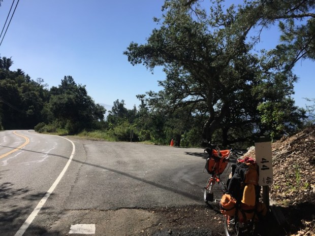 2017 Pacific Coast bike tour