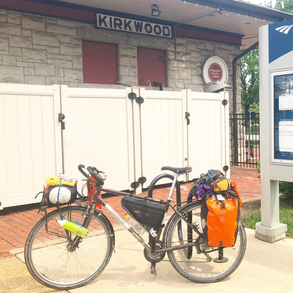 Kirkwood post Katy Trail