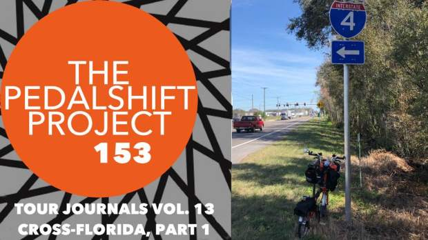 Pedalshift Tour Journals Vol. 13 Cross-Florida Bike Tour