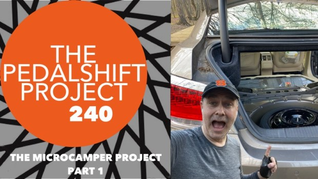 The Pedalshift Project 240: The Microcamper Project - Part 1