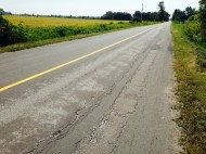 The roads are in great shape ...