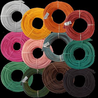 Peddigrohr Ø 2,5mm 250g Rollen alle Farben