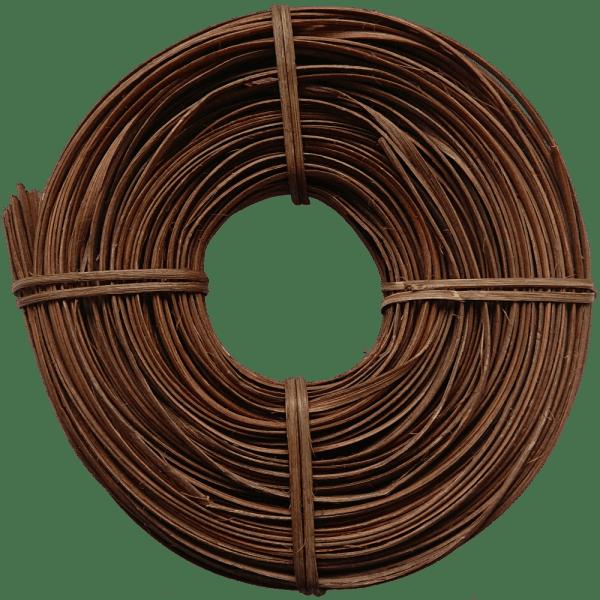 Peddigschiene - Braun geräuchert - 5mm 250g Rolle