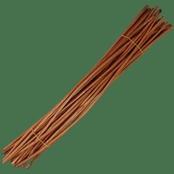 Weide Korbweide Staken rot gekocht geschält 40cm