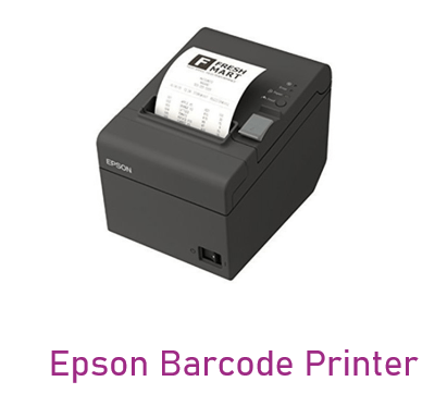 Can be used in Epson Barcode Printer device