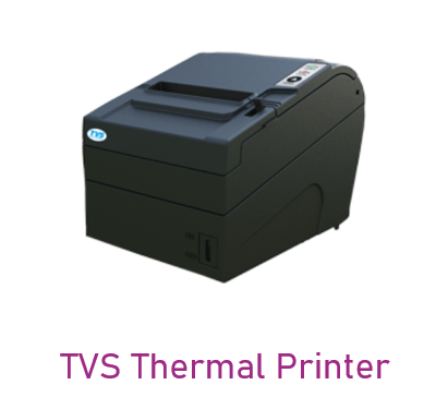 Can be used in TVS Thermal Printer device
