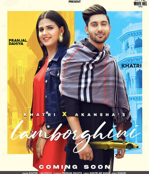 Khatri and Akansha tripathi is all set to release their new song   'Lamborghini' on 8th June,2021.