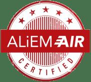 ALIEM AIR Certified Logo