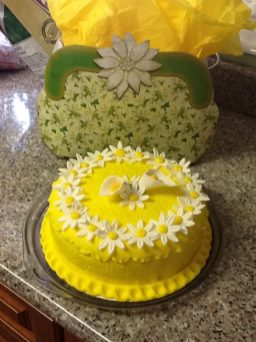 custom cake designs: spring fun