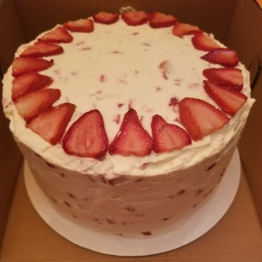 Strawberry Cheer Cake