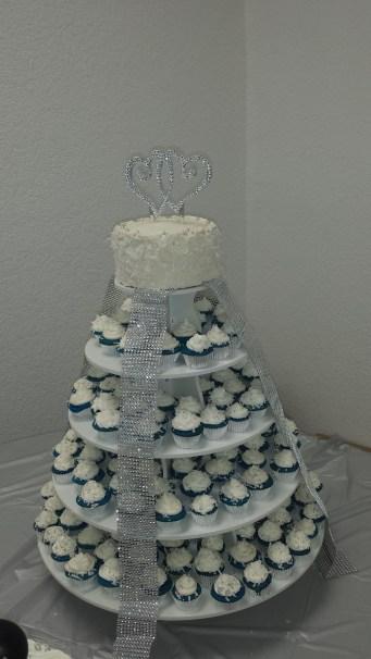 Aquamina Wedding Tower