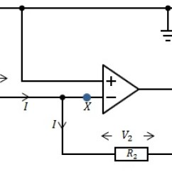 Circuit Diagram Of Non Inverting Amplifier And Wiring Diagrams Difference Between Noninverting
