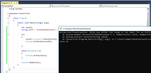What is the Difference Between int Parse and Convert ToInt32 in C# - Pediaa.Com
