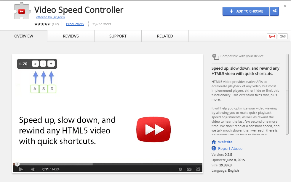 Video Speed Controller - Superdica do Site de Pé Diabético