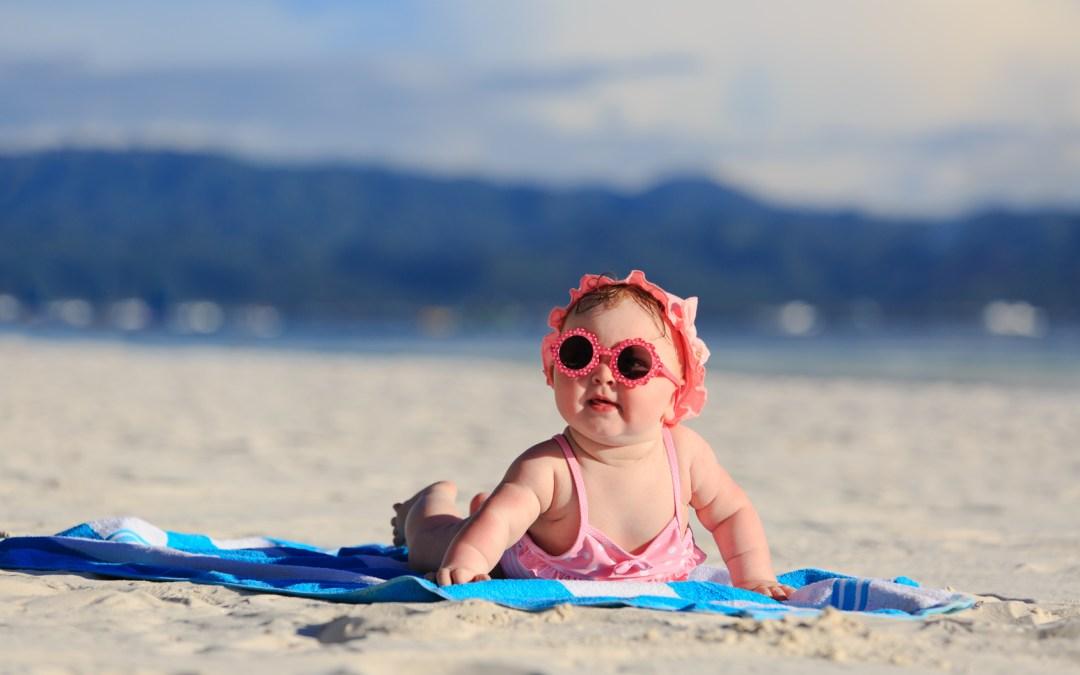 ¿Cuándo puedo sacar a mi bebe al sol?