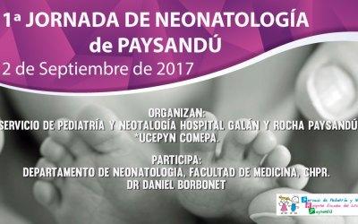 1ª JORNADA DE NEONATOLOGÍA de PAYSANDÚ