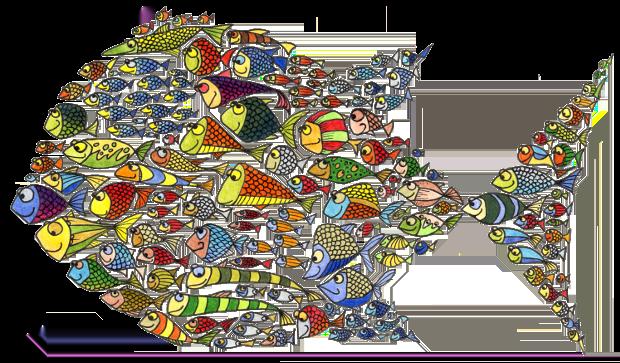Immagine con pesci