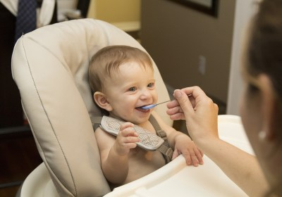 Over half of American babies are given solids too early