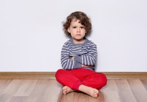 child with oppositional defiant disorder syndrome (ODD)