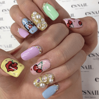 Los Angeles Nail Art Esnail La