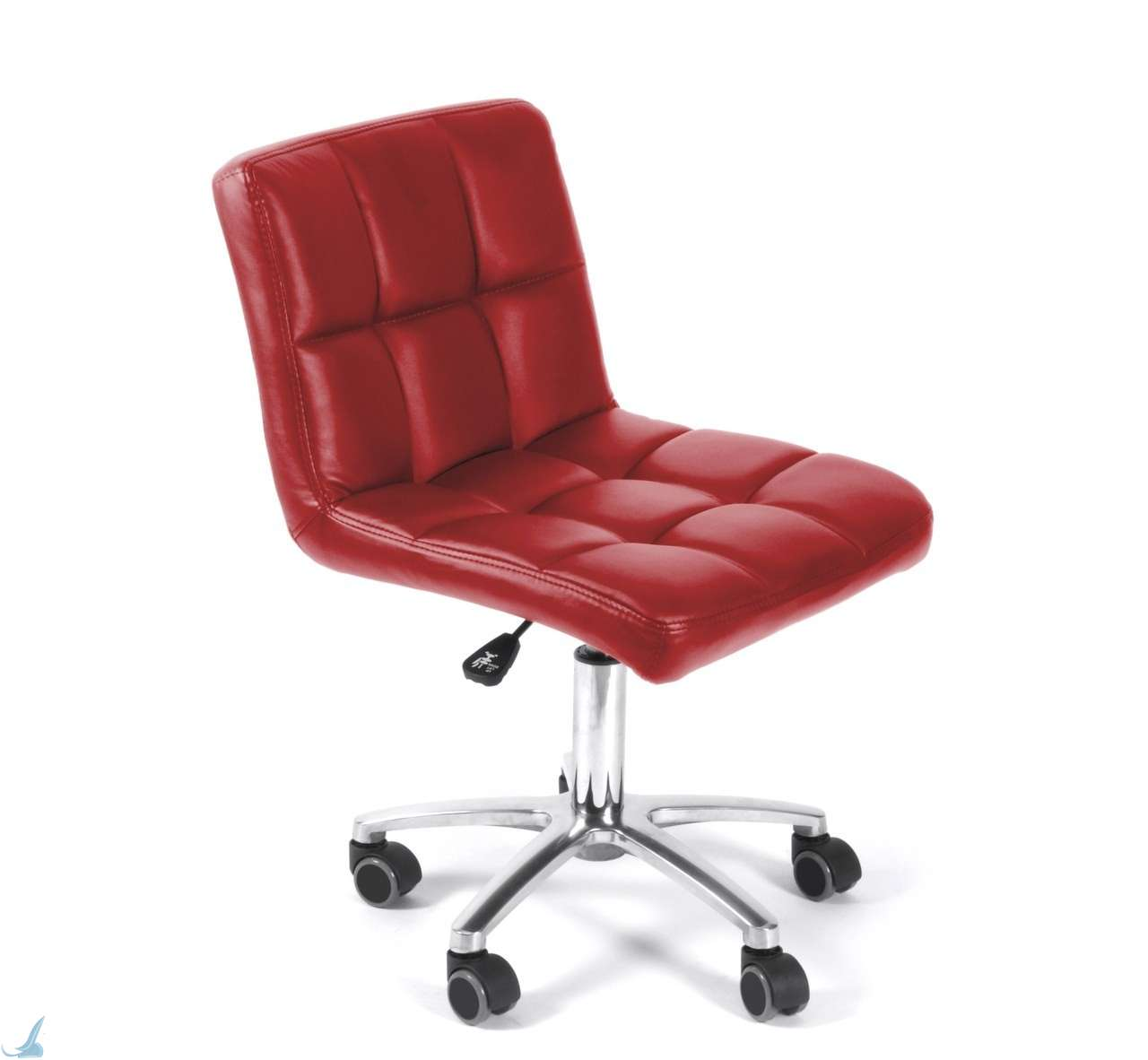Red Salon Chairs Nail Salon Stools Ovationspas