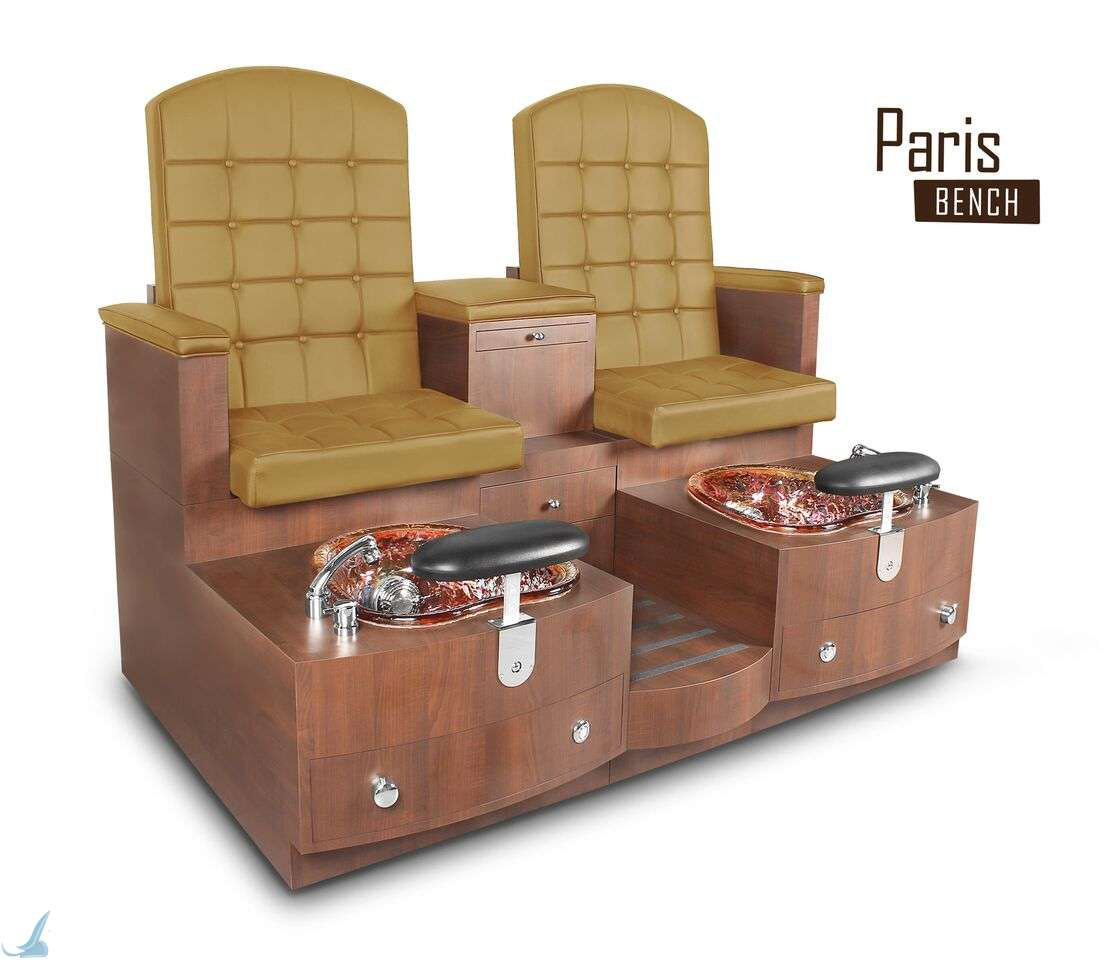 spa pedicure chairs canada indoor hammock chair stand gulfstream paris double bench