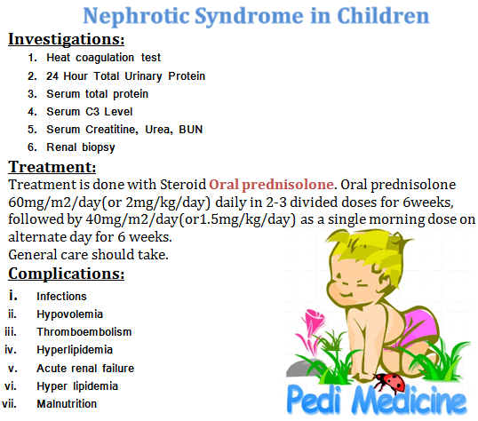 How Much Protein to Give for Nephrotic Syndrome Child