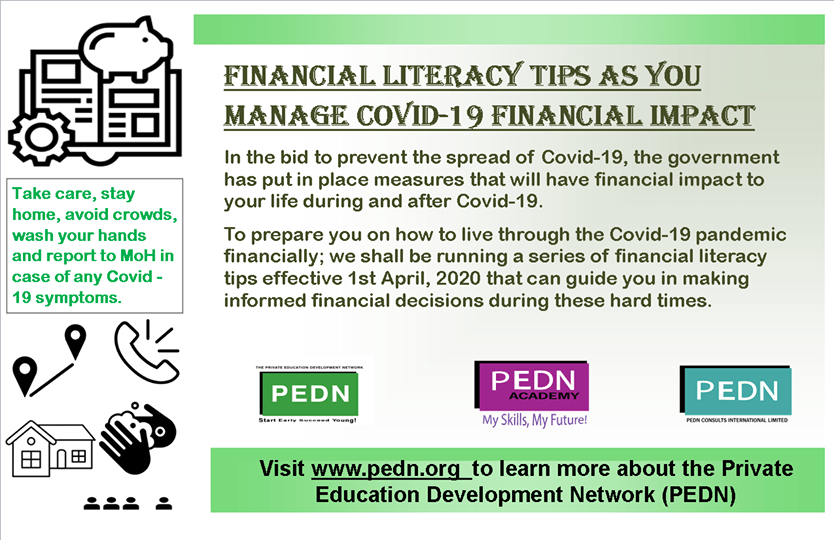 Financial literacy tips as you manage COVID-19 financial impact.