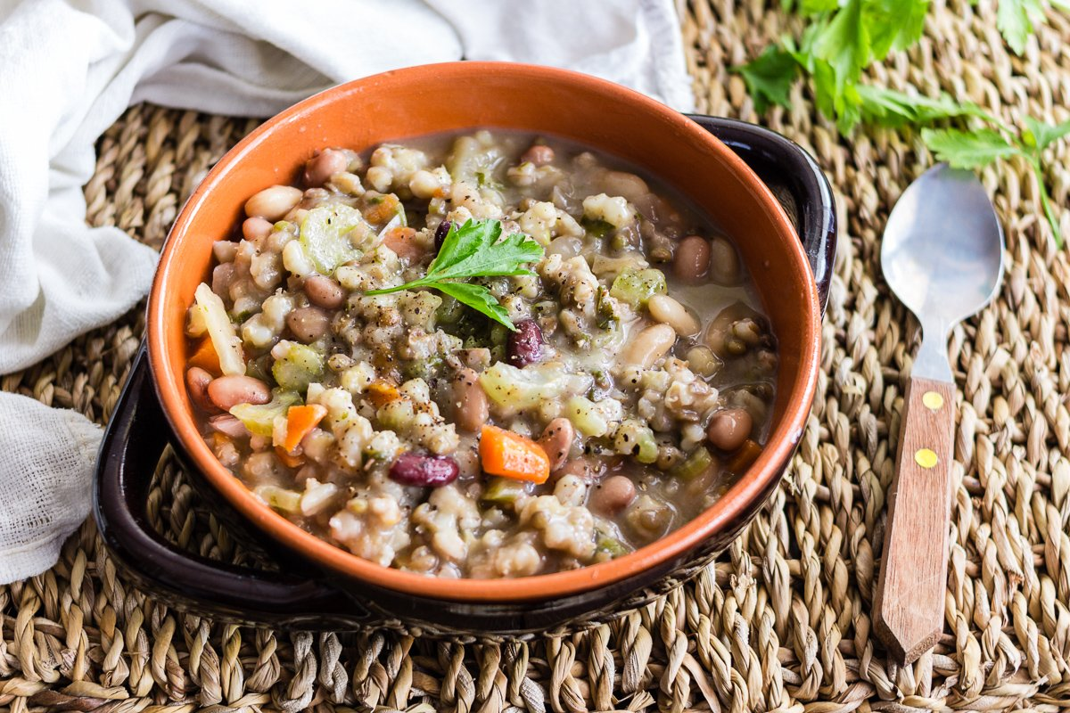 CEREALS AND LEGUMES SOUP