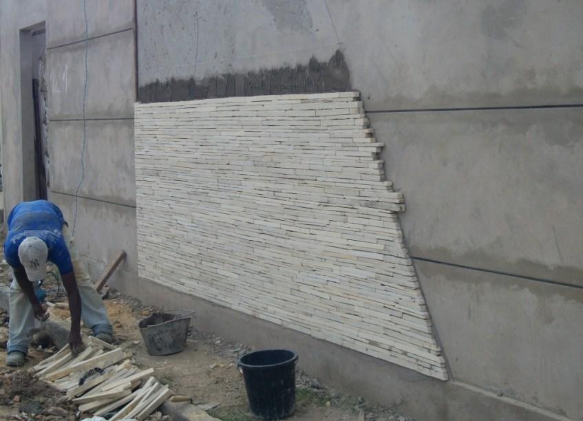 Como assentar pedra canjiquinha