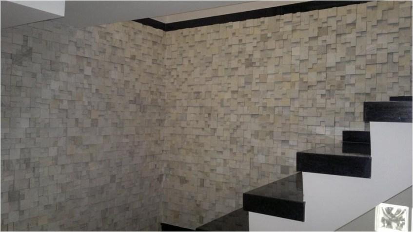 Mosaico São Tome Parede da Escada