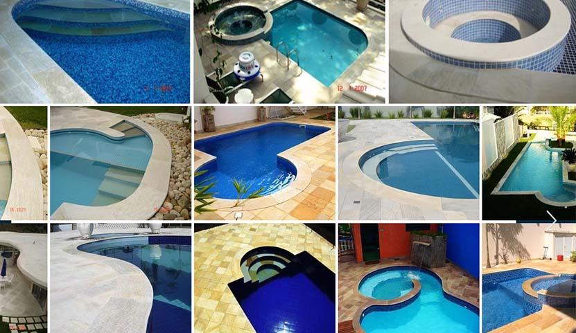 Pedras para piscina