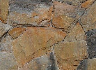 Pedra Policrômica Amarela Mesclada
