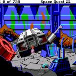 Space Quest III, smetisko.