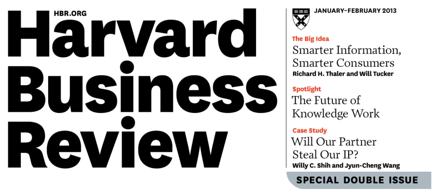 Case Comment on Harvard Business Review  Pedro Antao Alves