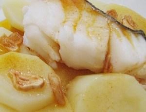Bacalao Guisado con Patatas