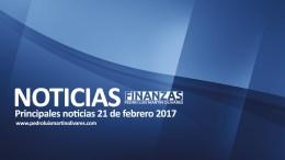 Principales noticias 16 de febrero 2017 1 - Principales noticias 21 de febrero 2017