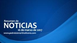 principales noticias16 de marzo - Principales noticias 16 de marzo 2017