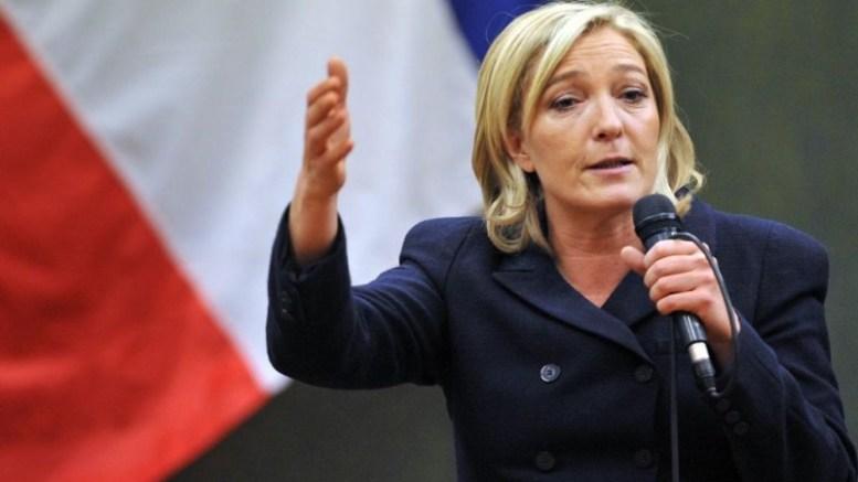 Le Pen propone dos monedas para Francia - Le Pen propone dos monedas para Francia