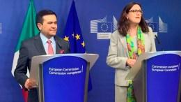 México y UE prevén concluir modernización de acuerdo comercial - México y UE prevén concluir modernización de acuerdo comercial