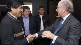 Bolivia y española Repsol acuerdan exploración de bloque gasífero - Bolivia y española Repsol acuerdan exploración de bloque gasífero
