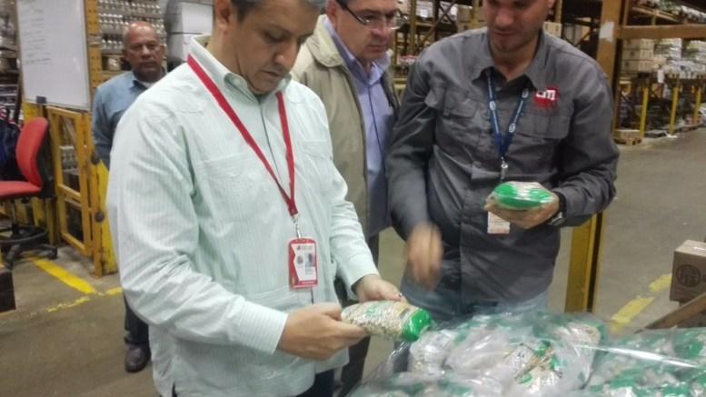 Central Madeirense es fiscalizado por presunta alteración de precios - Central Madeirense es fiscalizado por presunta alteración de precios