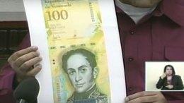 Billete de Bs. 100 mil saludará a los venezolanos esta semana - Billete de Bs. 100 mil saludará a los venezolanos esta semana