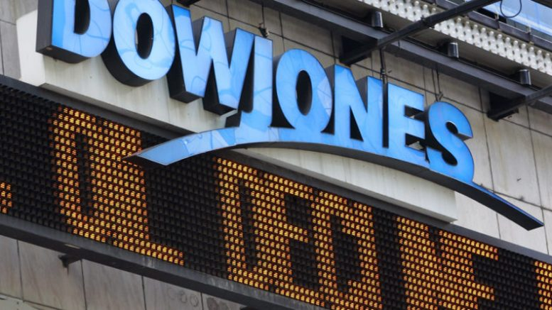Dow Jones cae más de 700 puntos por temores a una guerra comercial - Dow Jones cae más de 700 puntos por temores a una guerra comercial